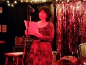 Stefanie at the New York reading.