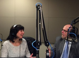 Me being interviewed on Boomer Generation Radio by Rabbi Richard Address.