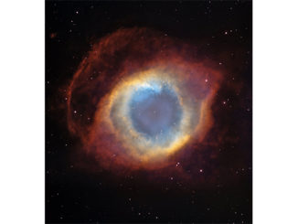 "NASA image from the Hubble Space Telescope shows the Helix Nebula, NGC 7293, sometimes referred to as the ""Eye of God"" nebula. Credit: NASA, ESA, and C.R. O'Dell (Vanderbilt University)"